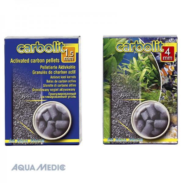 carbolit 400 g/1,25 l, 4 mm Pellets - Aktivkohle