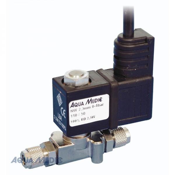 "M-ventil Standard, vernickelt, 1/8"" - , 2,5 Watt Absperrventil für CO2"