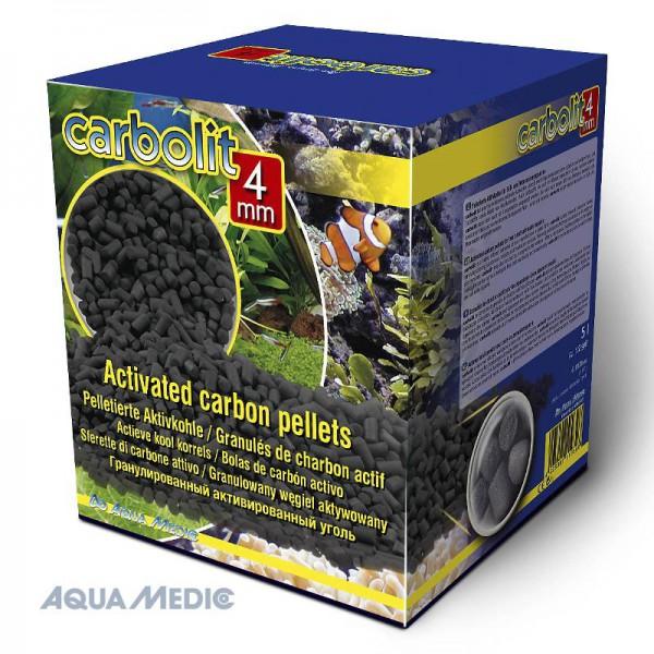 carbolit 5 l/3 kg, 4 mm Pellets - Aktivkohle