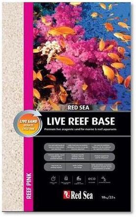 Red Sea Live Reef Base - Pink - Life Sand 10kg